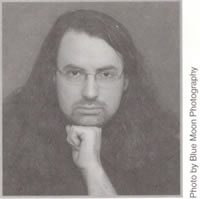 A picture of Jim Butcher from Death Masks