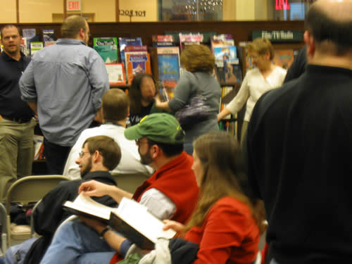 My first sight of Jim Butcher
