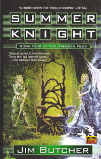 Front cover of Summer Knight